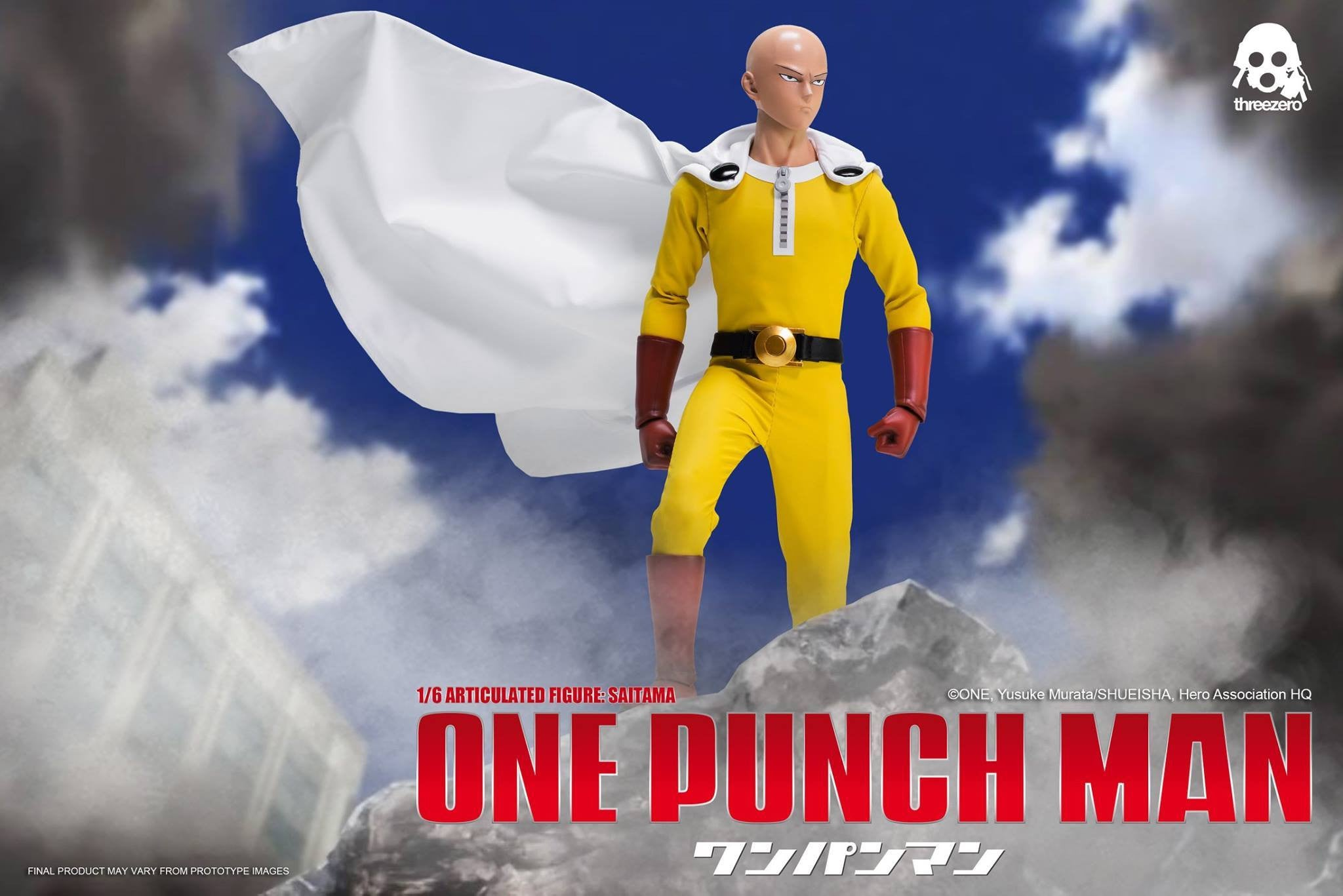 ThreeZero - One-Punch Man - Saitama - Marvelous Toys - 11