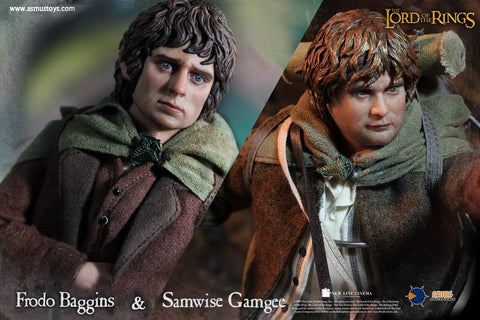 Asmus Toys - LOTR014 & 015 - Lord of the Rings - Heroes of Middle-Earth - Frodo & Sam - Marvelous Toys - 1
