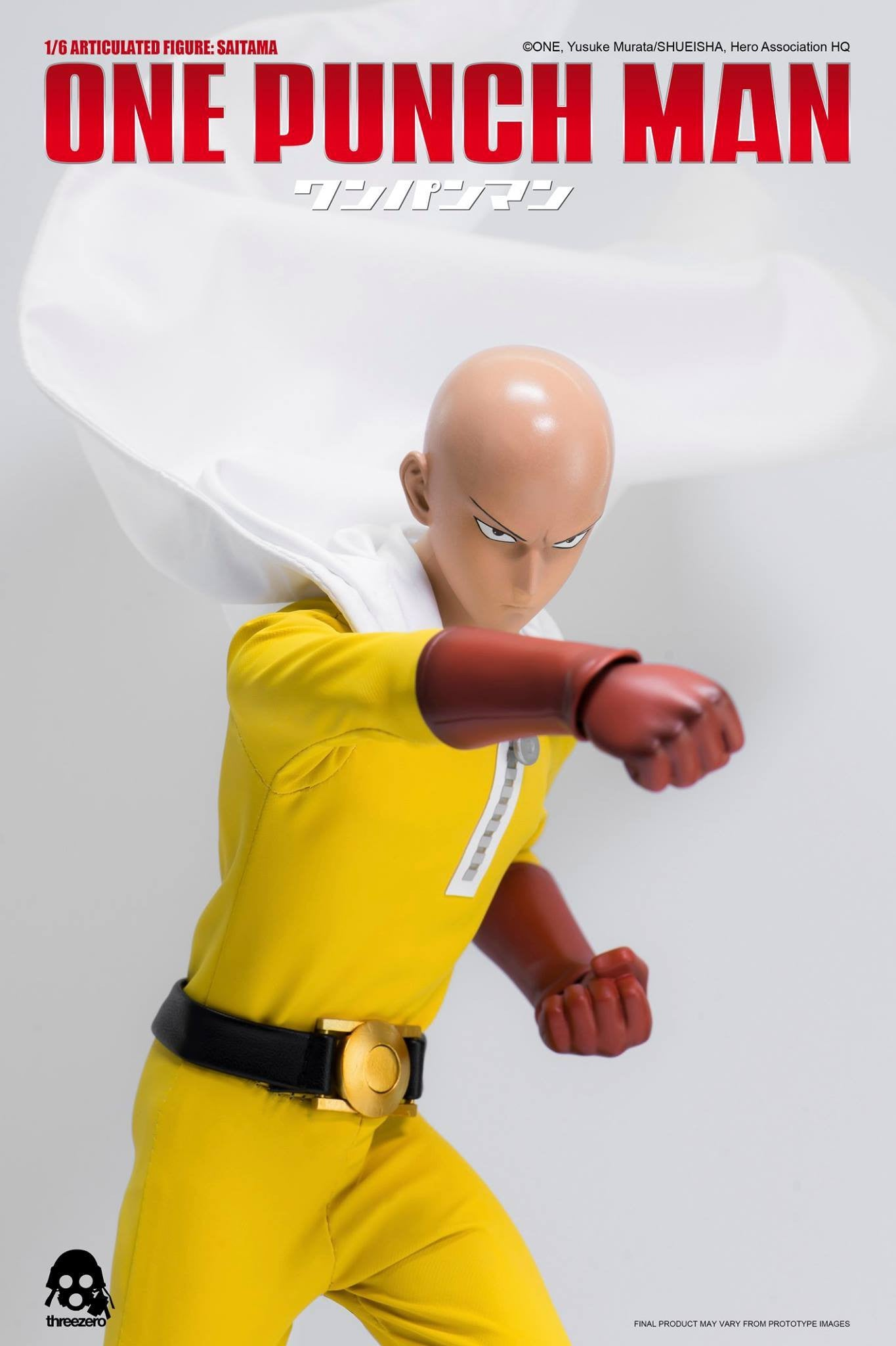 ThreeZero - One-Punch Man - Saitama - Marvelous Toys - 2