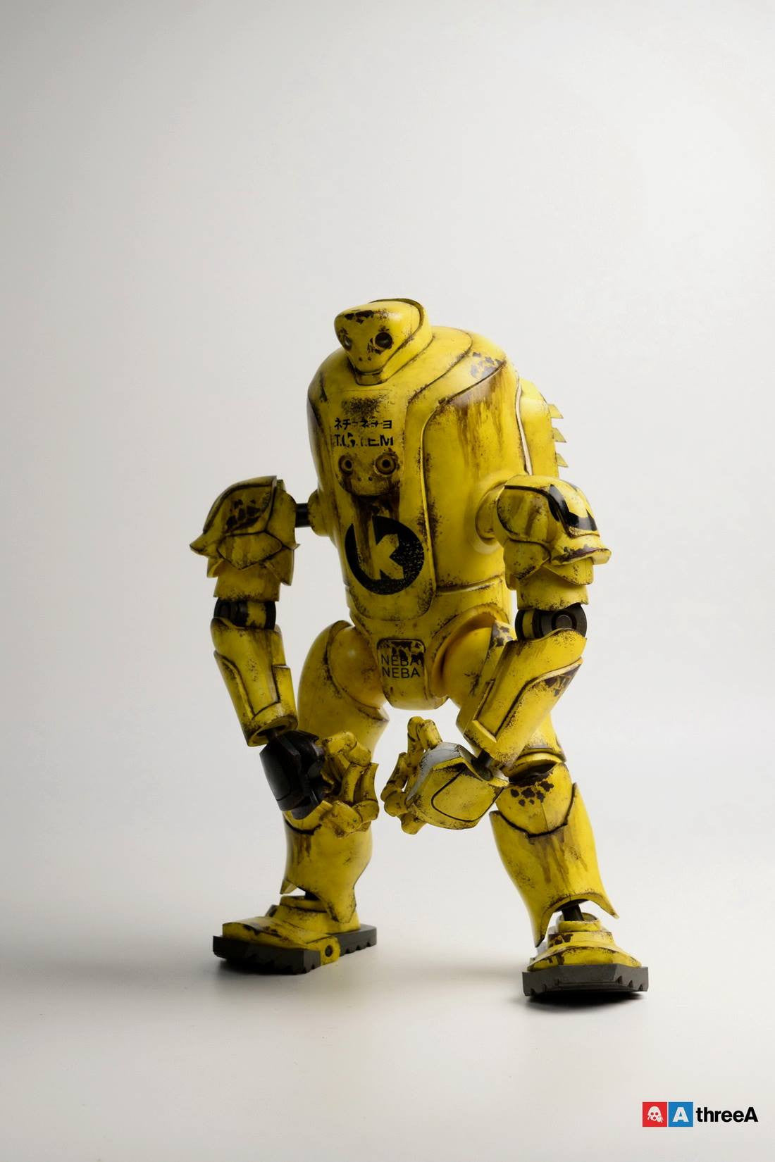 ThreeA - Evenfall - 1/6 T.O.T.E.M Thug Pugillo - K Striker-047 (Yellow) - Marvelous Toys - 1