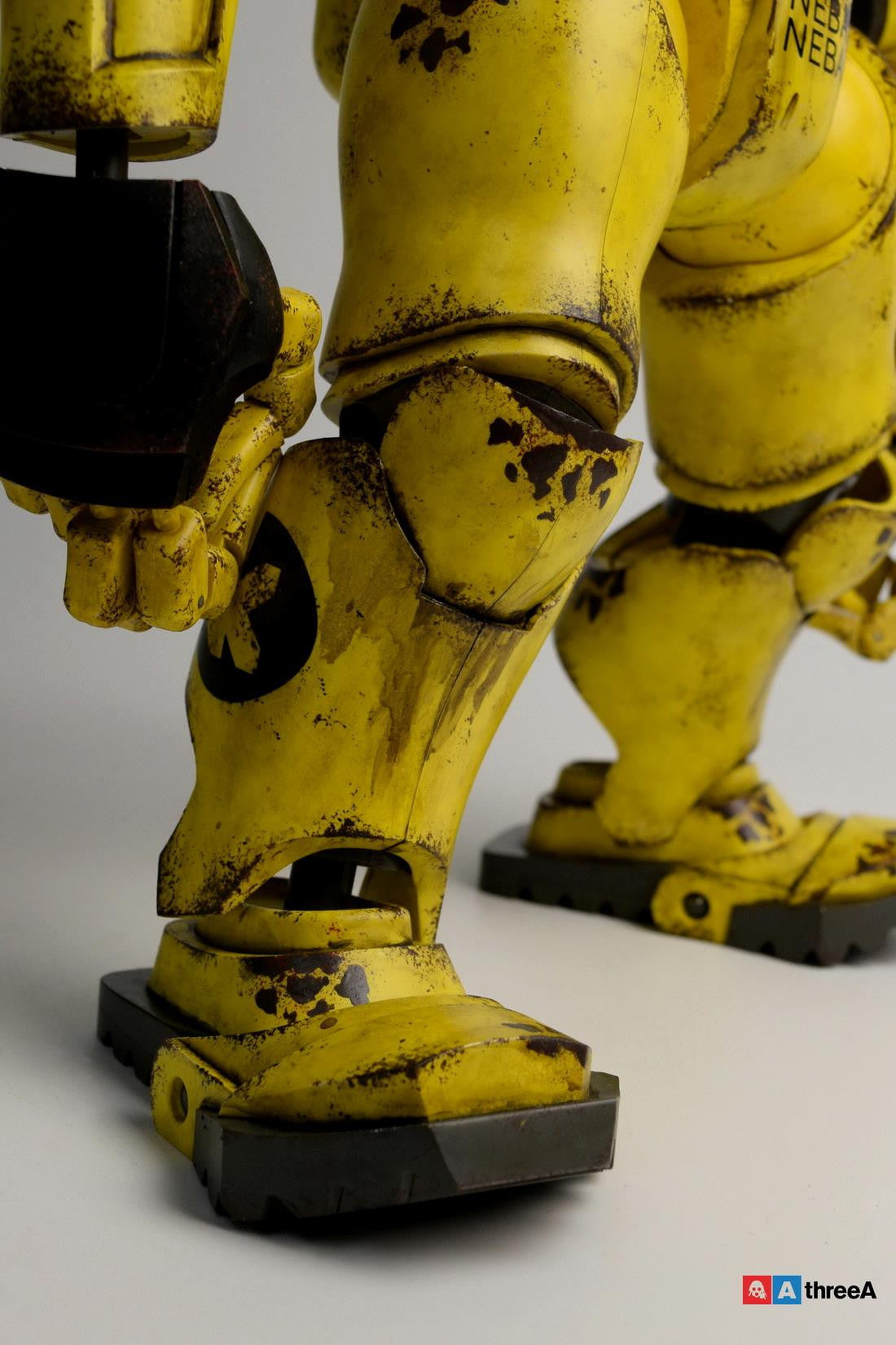 ThreeA - Evenfall - 1/6 T.O.T.E.M Thug Pugillo - K Striker-047 (Yellow) - Marvelous Toys - 3