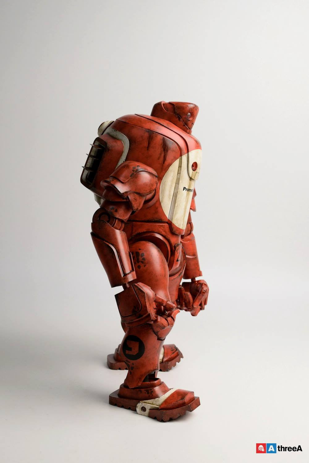 ThreeA - Evenfall - 1/6 T.O.T.E.M Thug Pugillo - Hazard Op (Red) - Marvelous Toys - 7