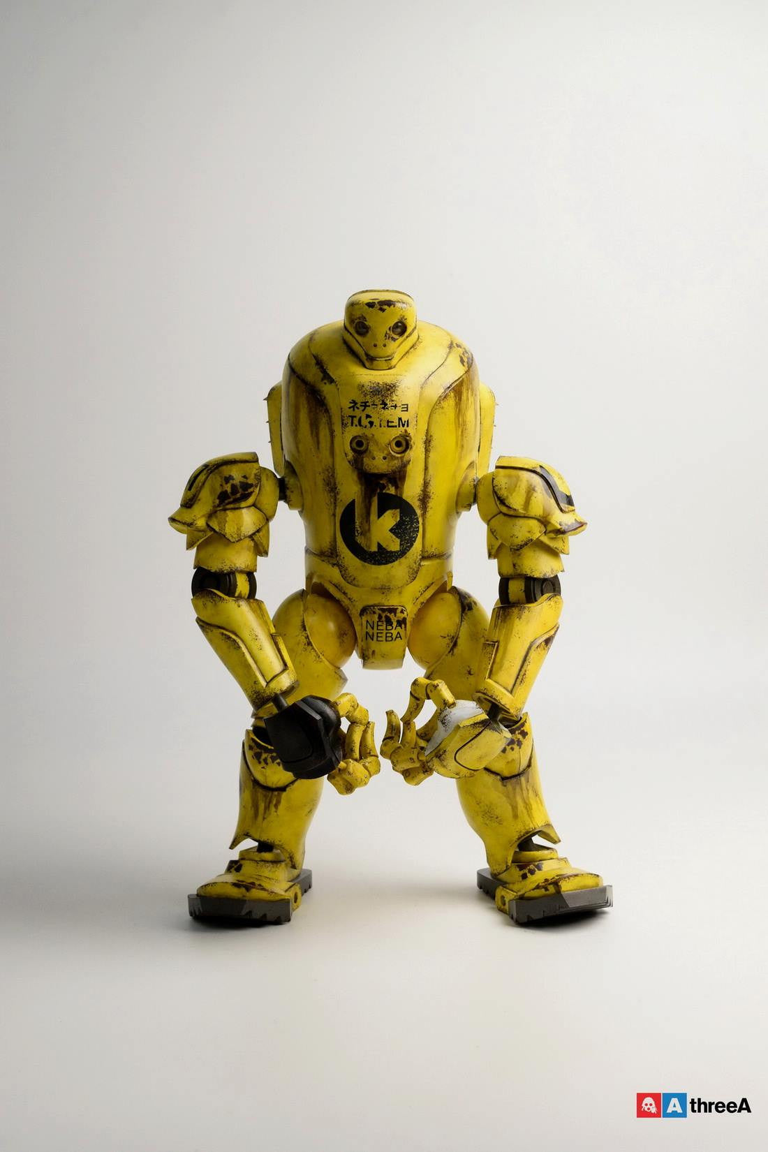 ThreeA - Evenfall - 1/6 T.O.T.E.M Thug Pugillo - K Striker-047 (Yellow) - Marvelous Toys - 4