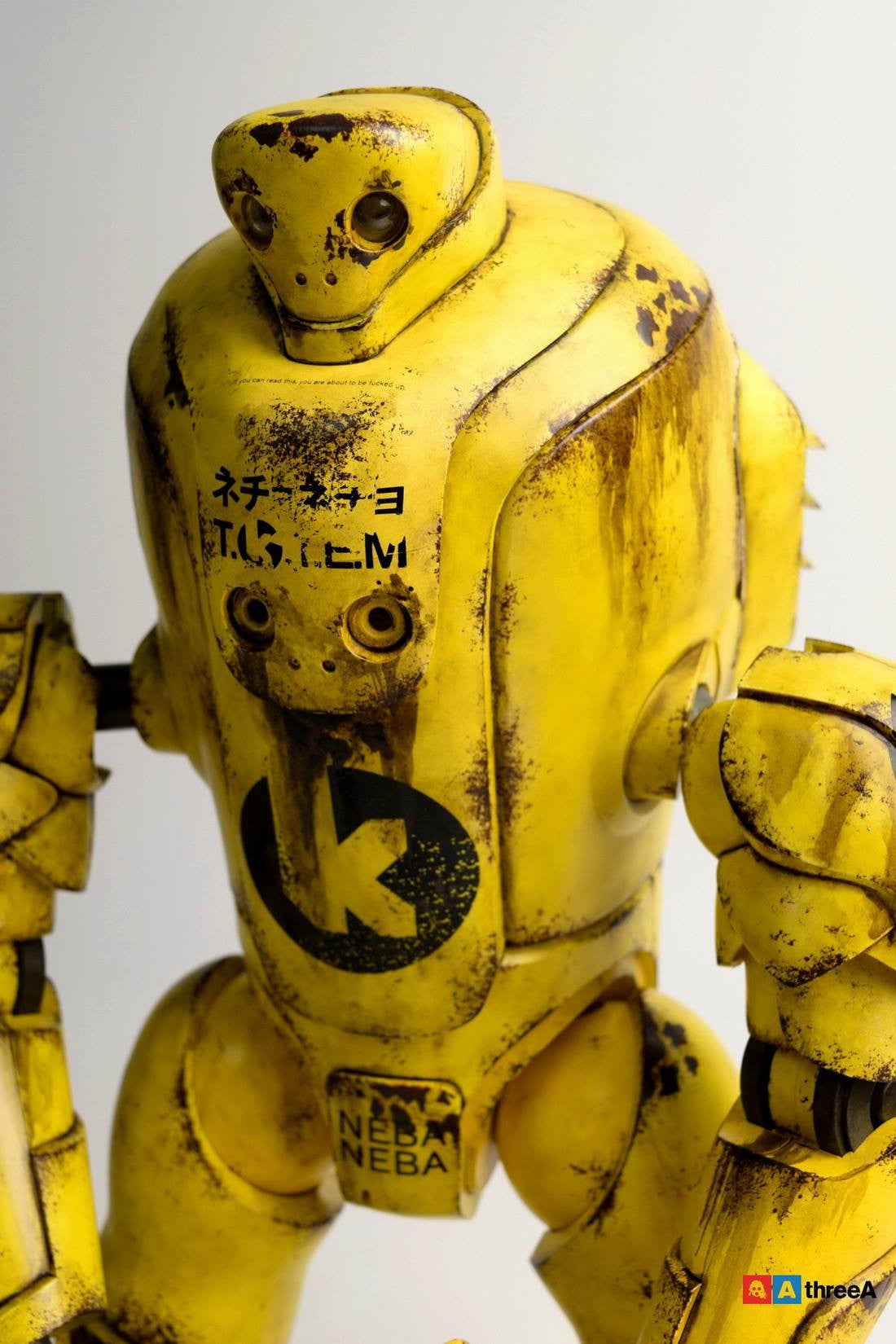 ThreeA - Evenfall - 1/6 T.O.T.E.M Thug Pugillo - K Striker-047 (Yellow) - Marvelous Toys - 7