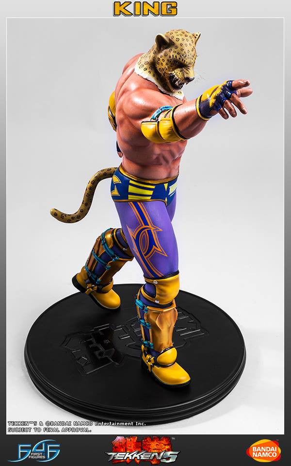 First 4 Figures - Tekken 5 - King - Marvelous Toys - 2