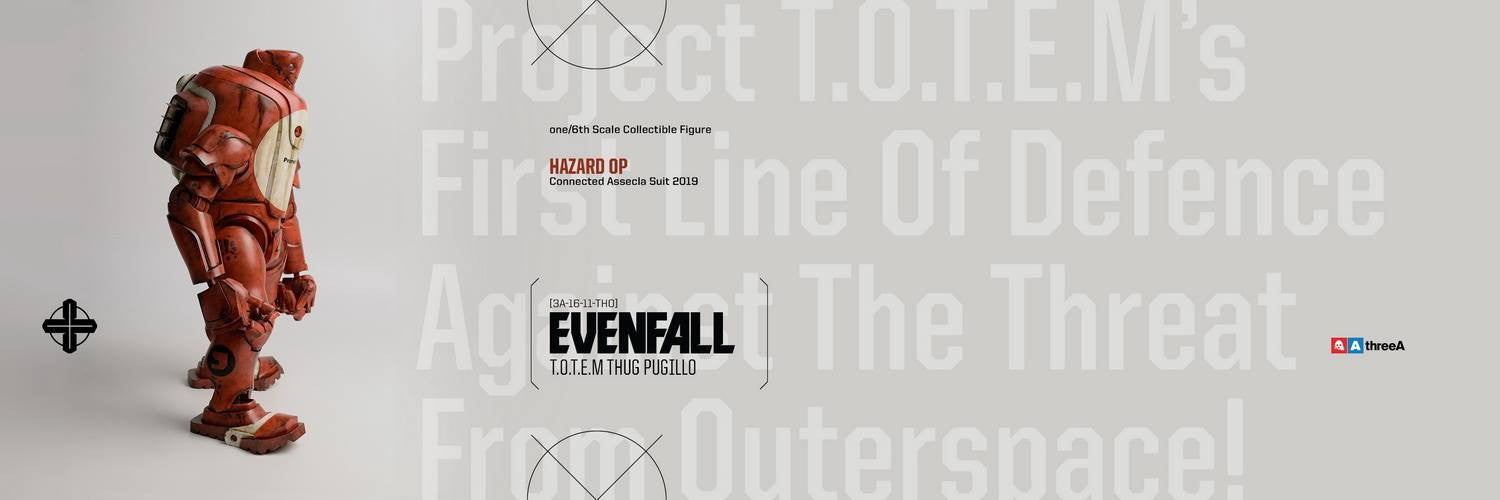 ThreeA - Evenfall - 1/6 T.O.T.E.M Thug Pugillo - Hazard Op (Red) - Marvelous Toys - 11