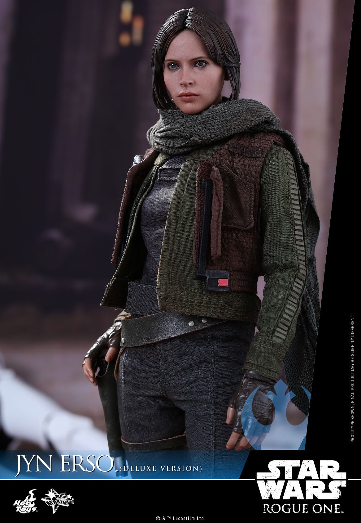 Hot Toys - MMS405 - Rogue One - A Star Wars Story - Jyn Erso (Deluxe Version) - Marvelous Toys - 3