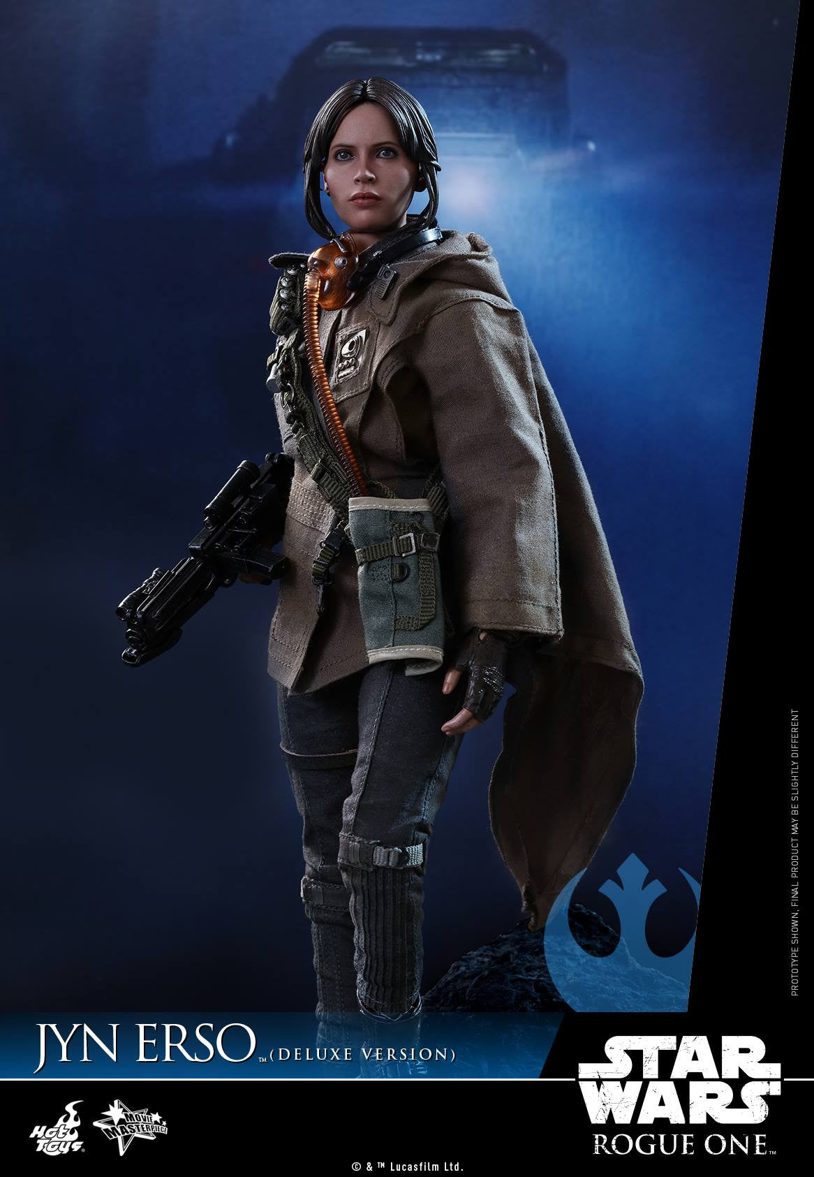 Hot Toys - MMS405 - Rogue One - A Star Wars Story - Jyn Erso (Deluxe Version) - Marvelous Toys - 5