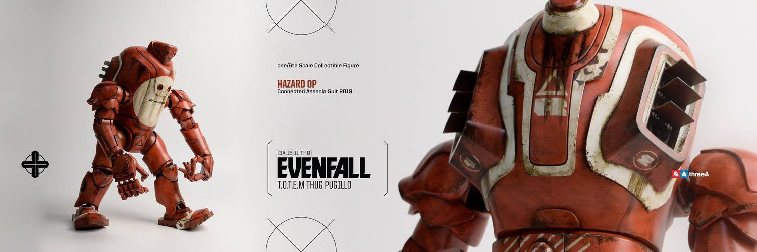 ThreeA - Evenfall - 1/6 T.O.T.E.M Thug Pugillo - Hazard Op (Red) - Marvelous Toys - 14