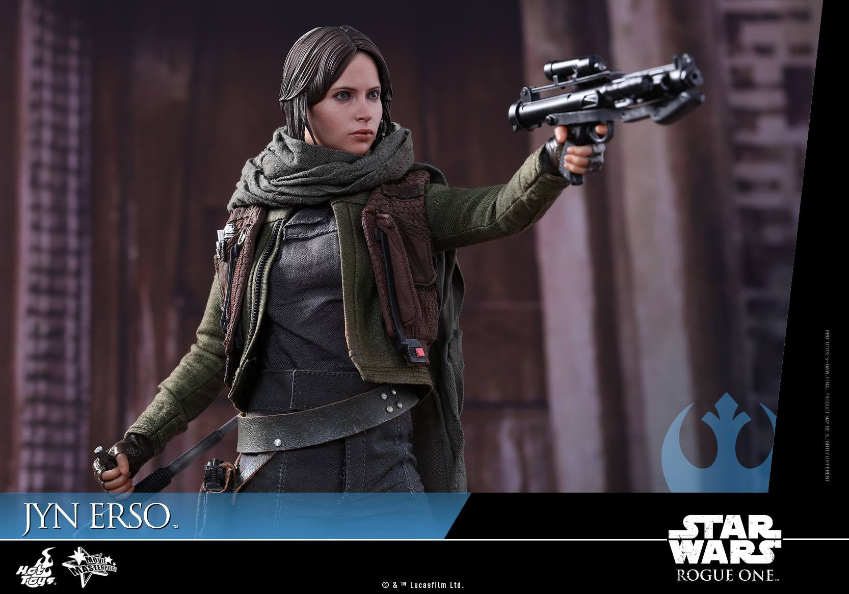 Hot Toys - MMS404 - Rogue One - A Star Wars Story - Jyn Erso - Marvelous Toys - 3