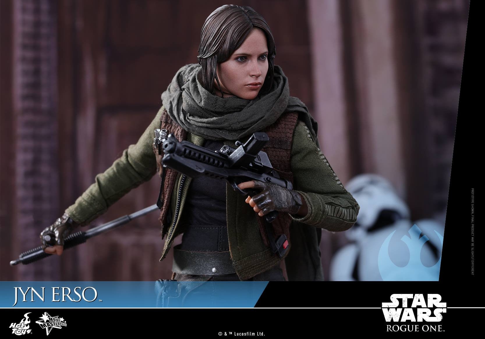 Hot Toys - MMS404 - Rogue One - A Star Wars Story - Jyn Erso - Marvelous Toys - 4