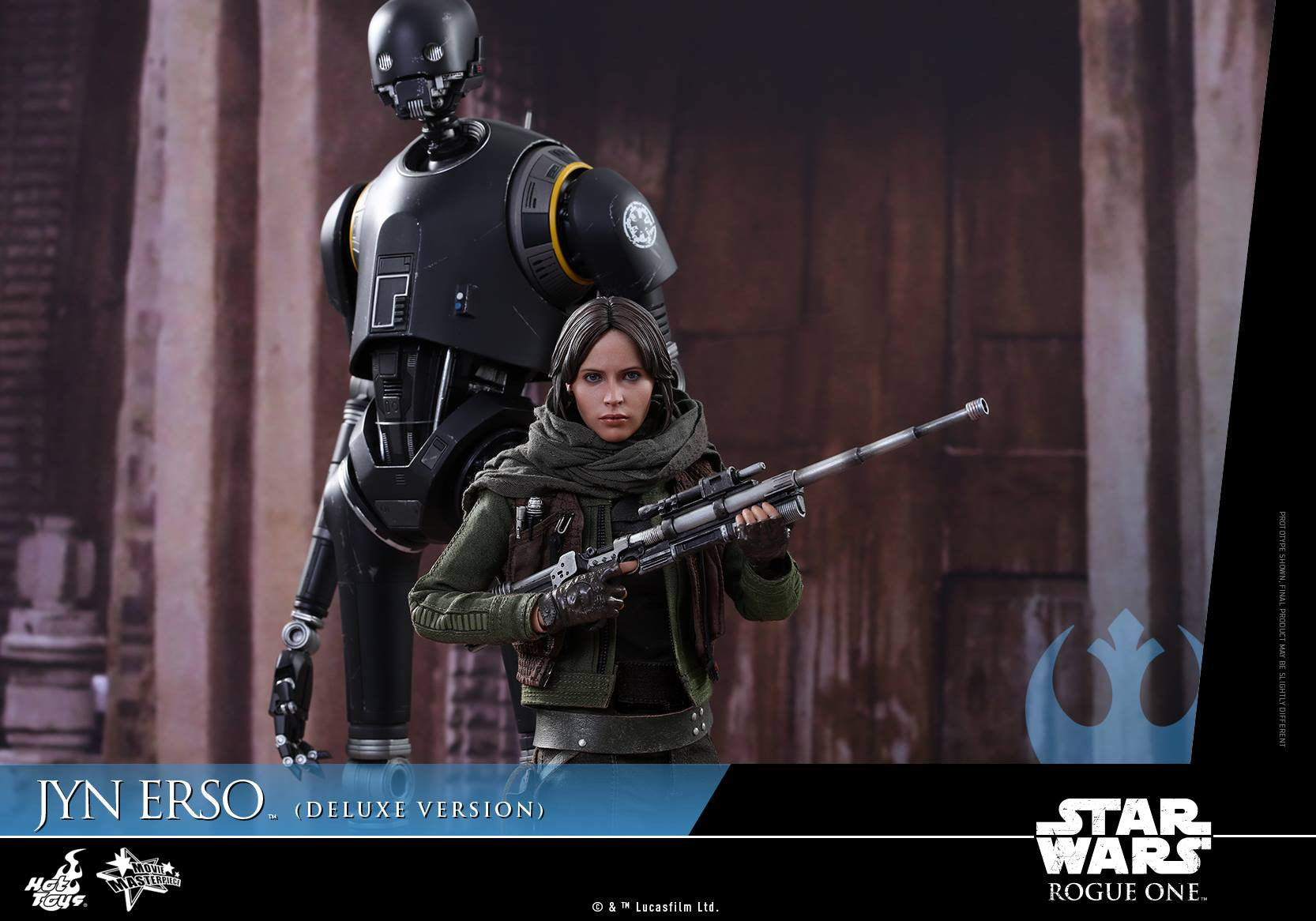 Hot Toys - MMS405 - Rogue One - A Star Wars Story - Jyn Erso (Deluxe Version) - Marvelous Toys - 7