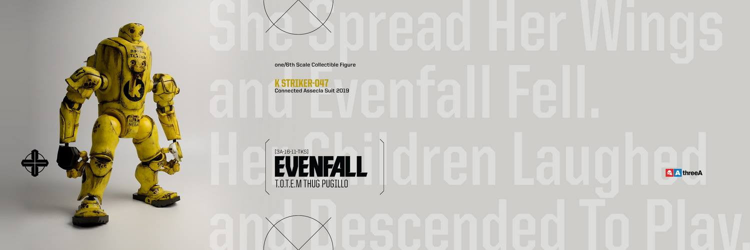 ThreeA - Evenfall - 1/6 T.O.T.E.M Thug Pugillo - K Striker-047 (Yellow) - Marvelous Toys - 11