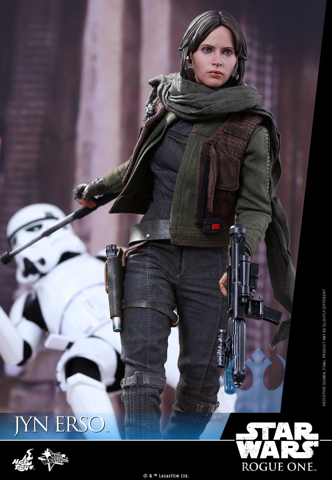 Hot Toys - MMS404 - Rogue One - A Star Wars Story - Jyn Erso - Marvelous Toys - 5