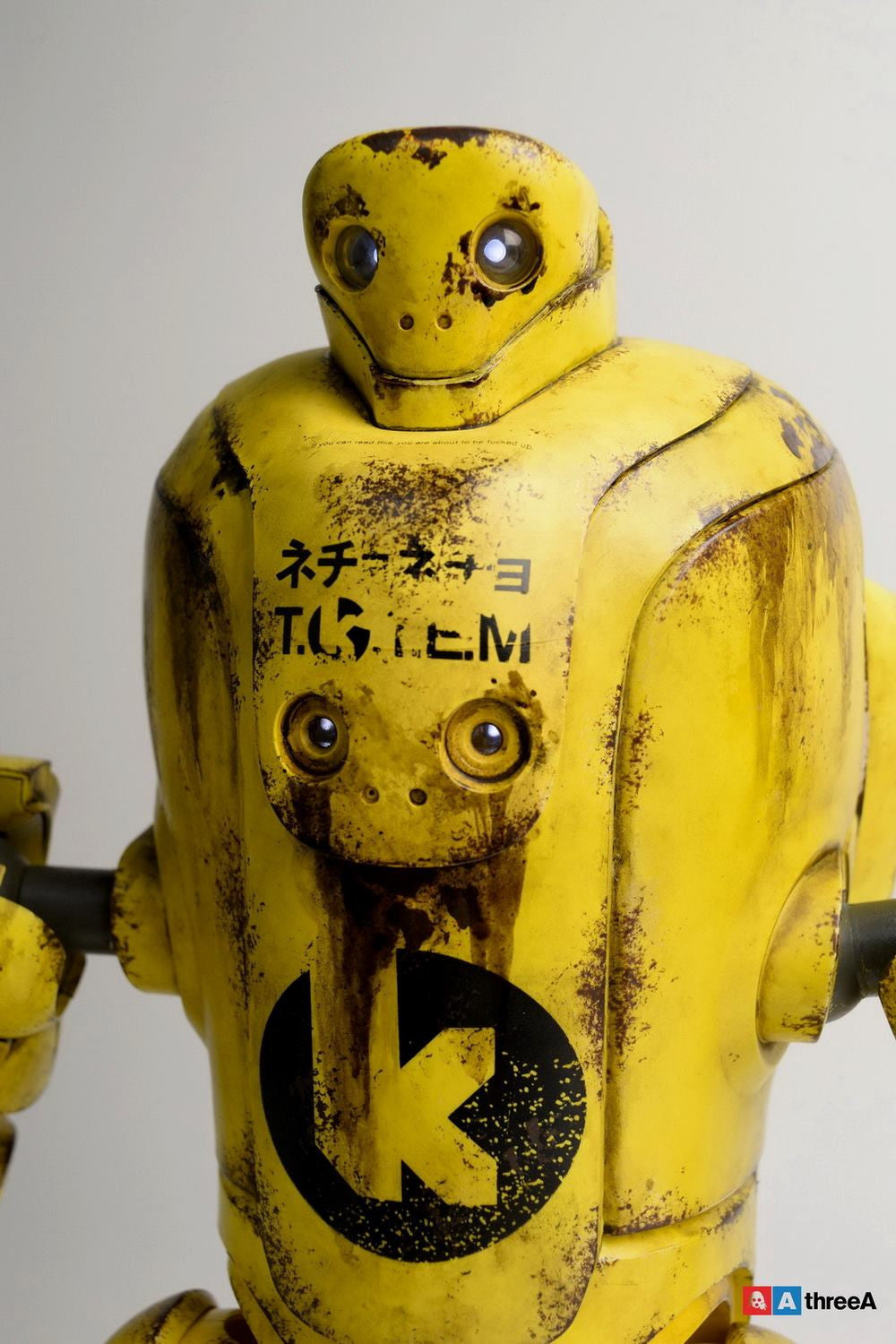 ThreeA - Evenfall - 1/6 T.O.T.E.M Thug Pugillo - K Striker-047 (Yellow) - Marvelous Toys - 12