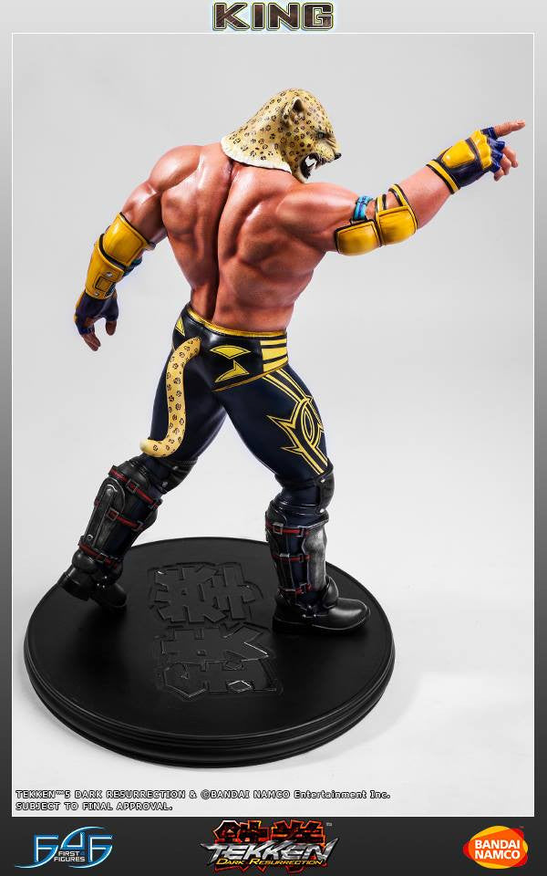 First 4 Figures - Tekken 5: Dark Resurrection - King - Marvelous Toys - 3