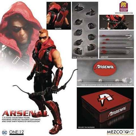 Mezco - One:12 Collective - Arsenal (PX Previews Exclusive) - Marvelous Toys - 2