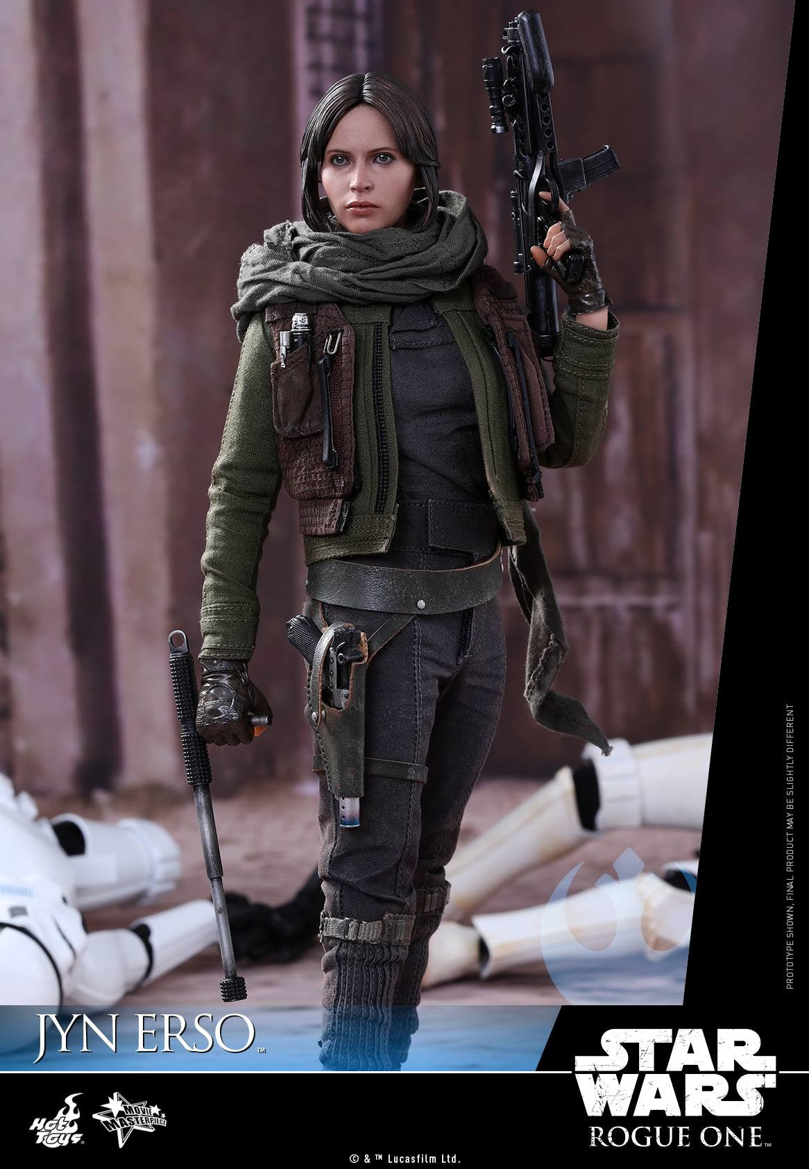 Hot Toys - MMS404 - Rogue One - A Star Wars Story - Jyn Erso - Marvelous Toys - 1