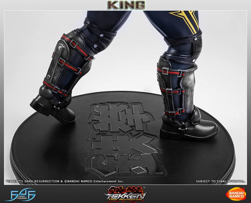 First 4 Figures - Tekken 5: Dark Resurrection - King - Marvelous Toys - 4