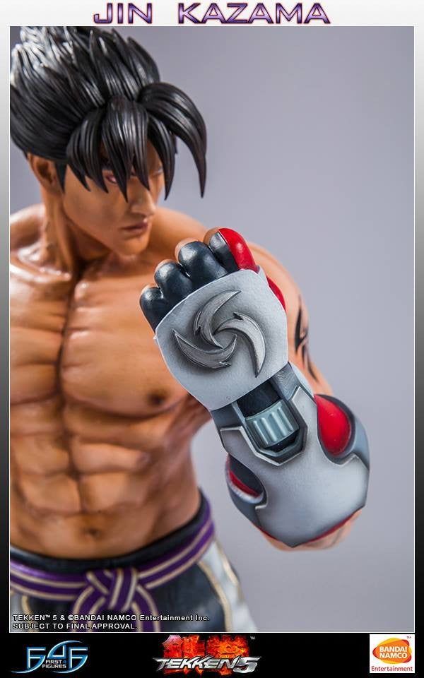 First 4 Figures - Tekken 5 - Jin Kazama - Marvelous Toys - 3