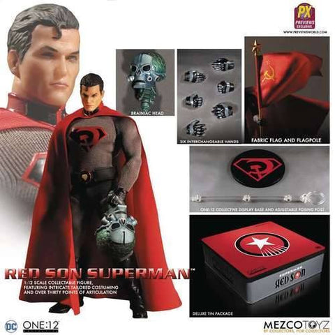 Mezco - One:12 Collective - Red Son Superman (PX Previews Exclusive) - Marvelous Toys - 2