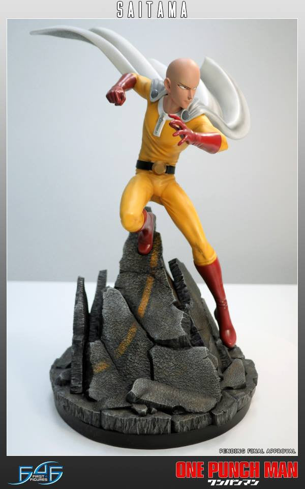First 4 Figures - One-Punch Man - Saitama - Marvelous Toys - 5