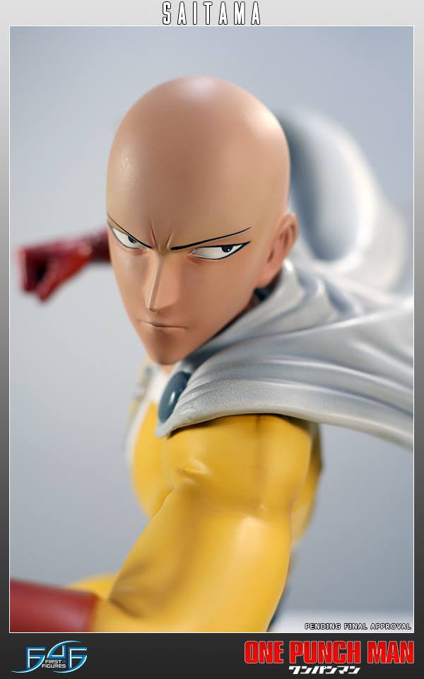 First 4 Figures - One-Punch Man - Saitama - Marvelous Toys - 8