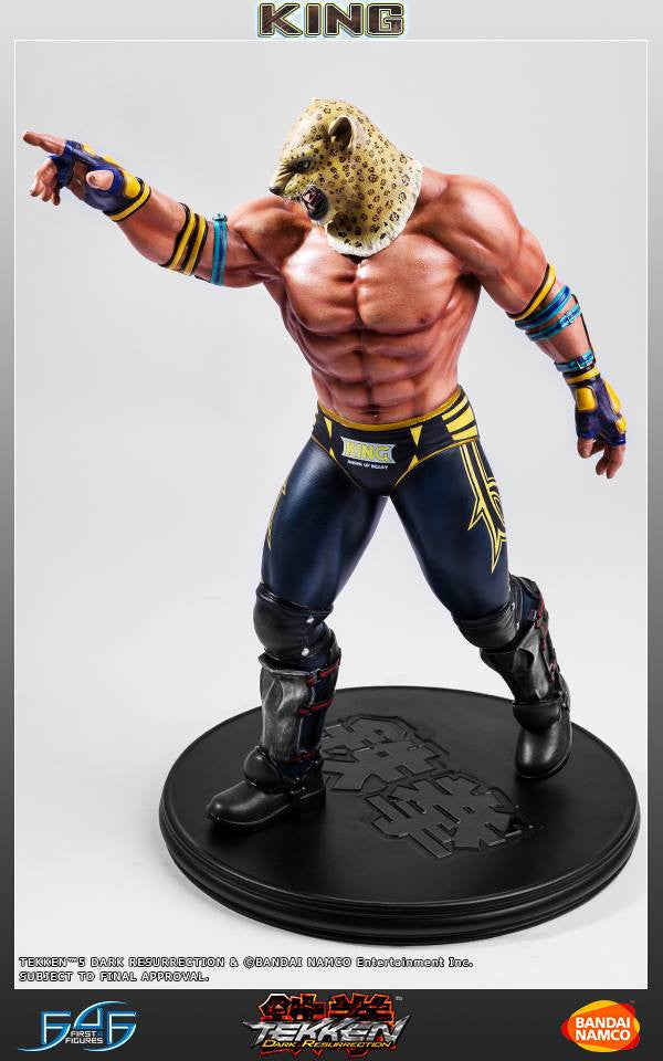 First 4 Figures - Tekken 5: Dark Resurrection - King - Marvelous Toys - 5