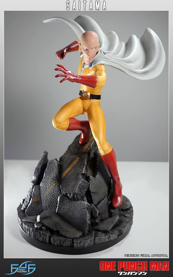 First 4 Figures - One-Punch Man - Saitama - Marvelous Toys - 9