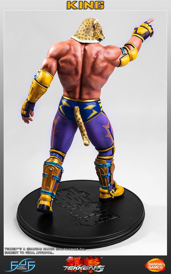 First 4 Figures - Tekken 5 - King - Marvelous Toys - 5