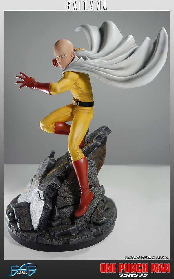 First 4 Figures - One-Punch Man - Saitama - Marvelous Toys - 10
