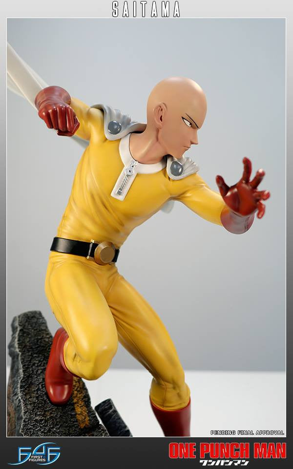 First 4 Figures - One-Punch Man - Saitama - Marvelous Toys - 13