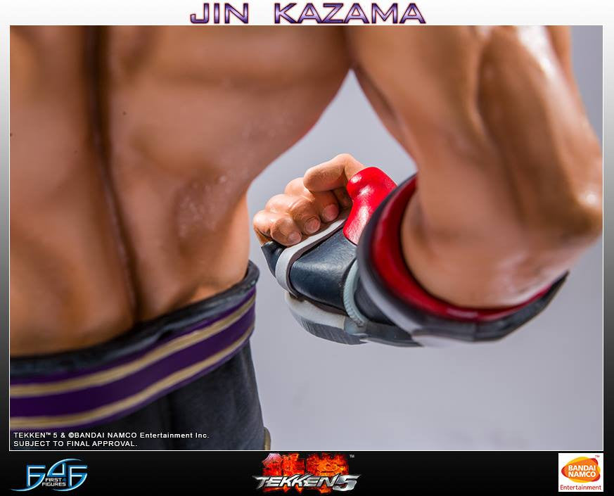 First 4 Figures - Tekken 5 - Jin Kazama - Marvelous Toys - 5
