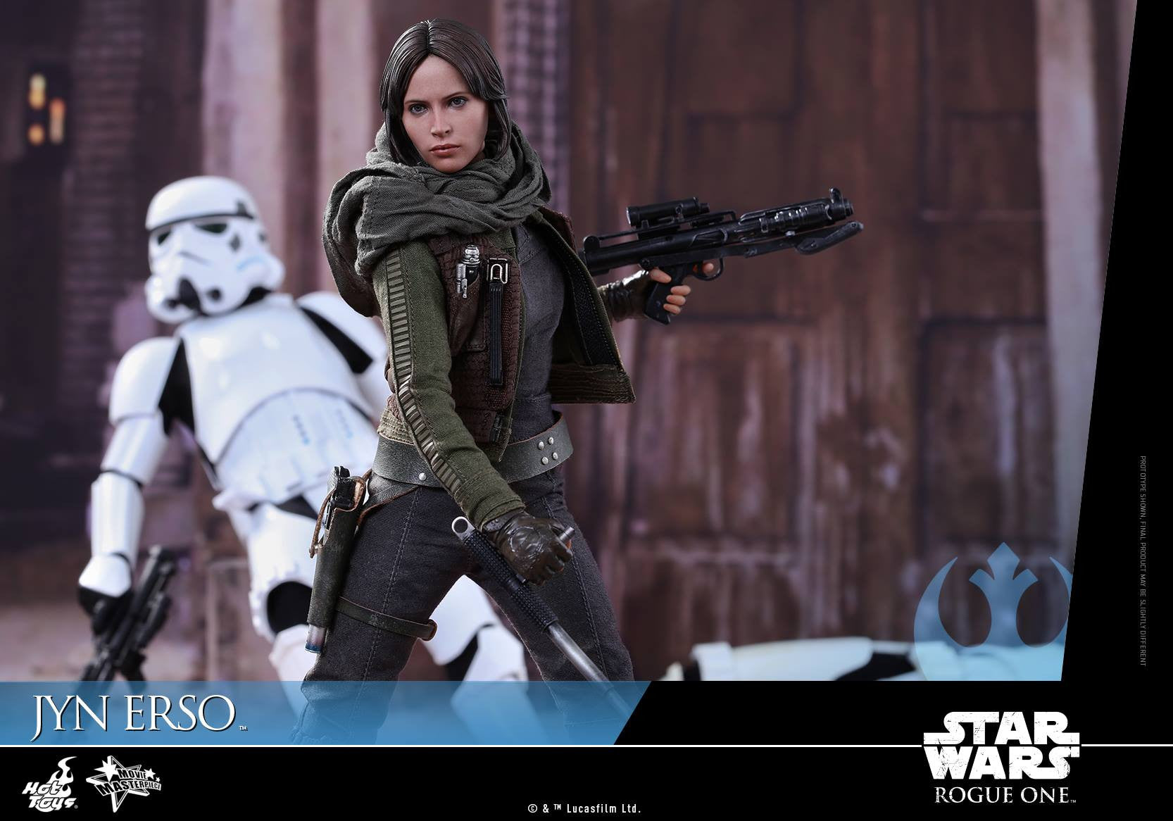 Hot Toys - MMS404 - Rogue One - A Star Wars Story - Jyn Erso - Marvelous Toys - 13