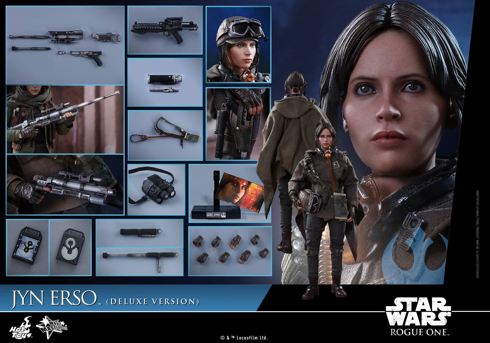 Hot Toys - MMS405 - Rogue One - A Star Wars Story - Jyn Erso (Deluxe Version) - Marvelous Toys - 14