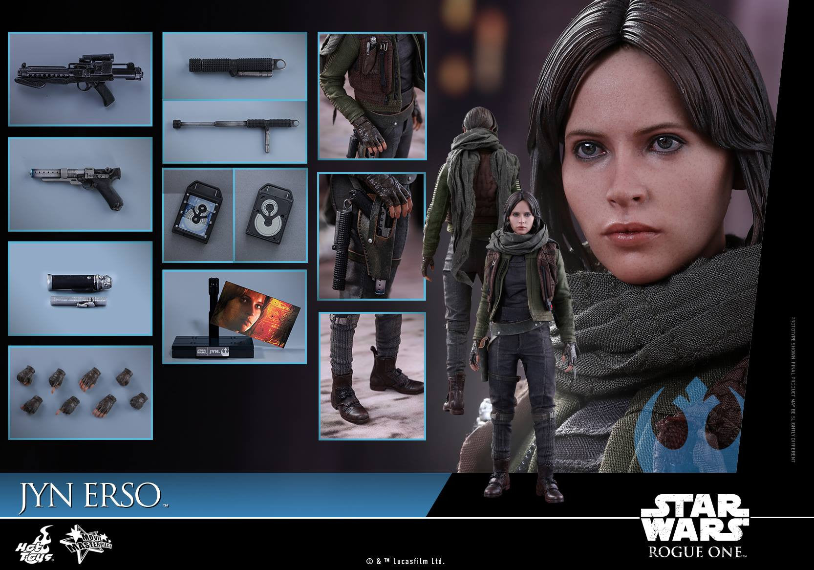 Hot Toys - MMS404 - Rogue One - A Star Wars Story - Jyn Erso - Marvelous Toys - 17