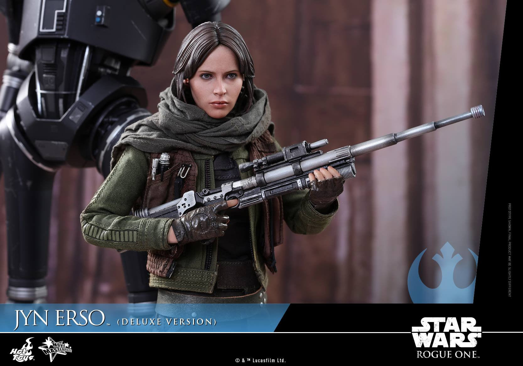 Hot Toys - MMS405 - Rogue One - A Star Wars Story - Jyn Erso (Deluxe Version) - Marvelous Toys - 12