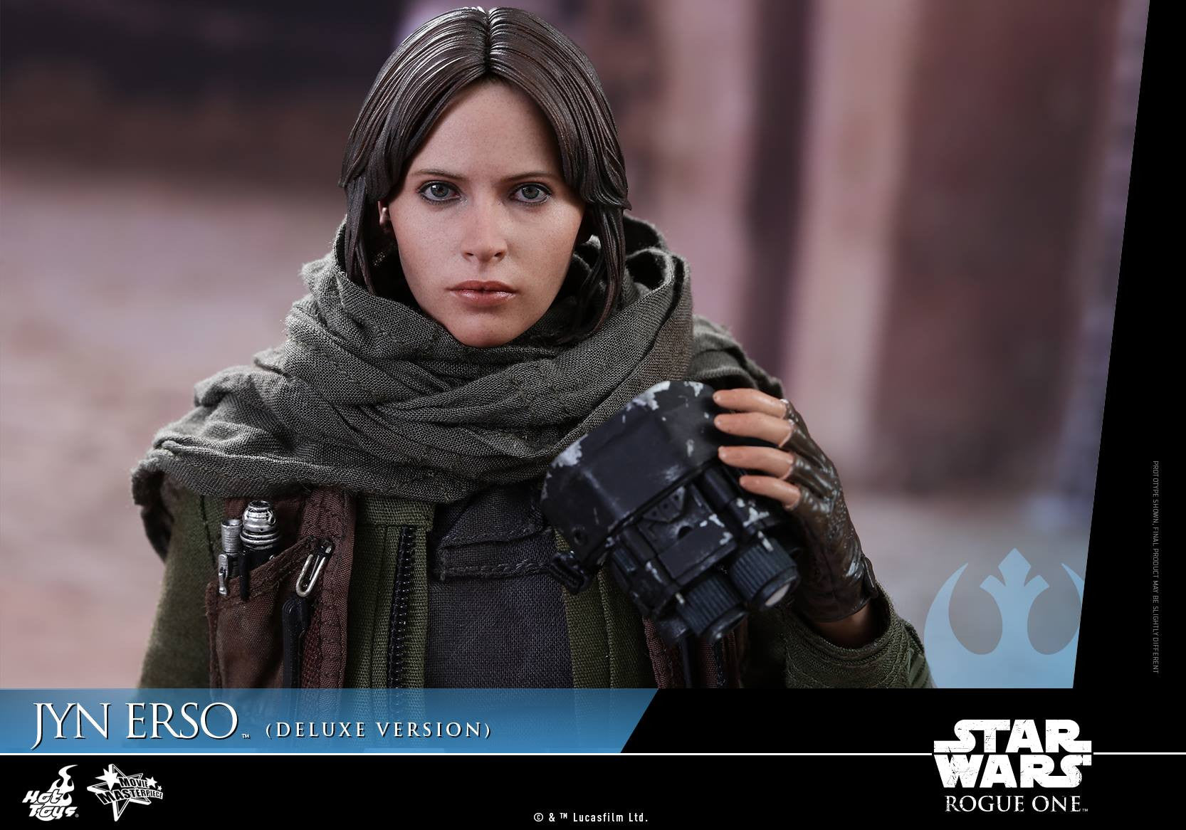 Hot Toys - MMS405 - Rogue One - A Star Wars Story - Jyn Erso (Deluxe Version) - Marvelous Toys - 13