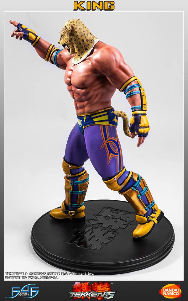 First 4 Figures - Tekken 5 - King - Marvelous Toys - 6