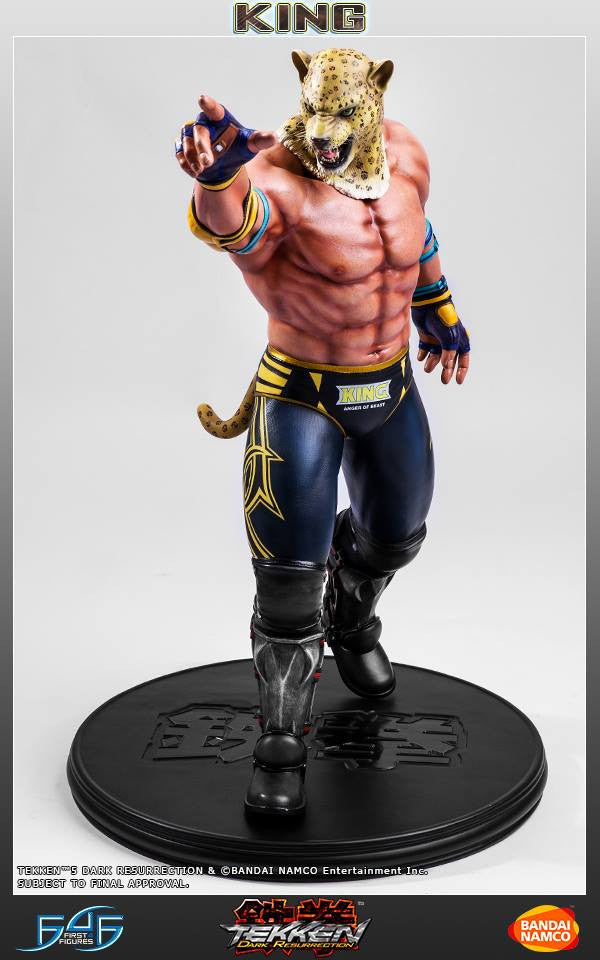 First 4 Figures - Tekken 5: Dark Resurrection - King - Marvelous Toys - 7