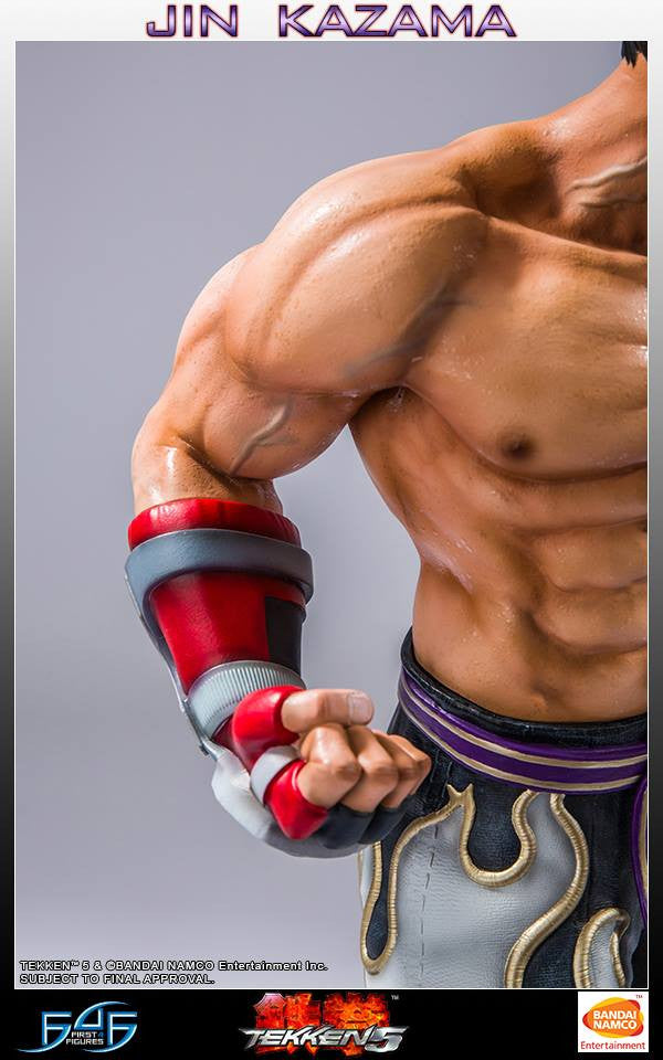 First 4 Figures - Tekken 5 - Jin Kazama - Marvelous Toys - 6