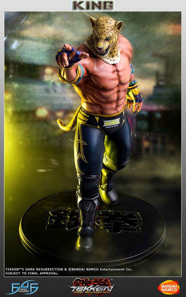 First 4 Figures - Tekken 5: Dark Resurrection - King - Marvelous Toys - 1