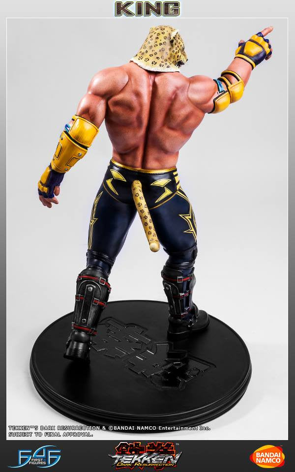 First 4 Figures - Tekken 5: Dark Resurrection - King - Marvelous Toys - 8