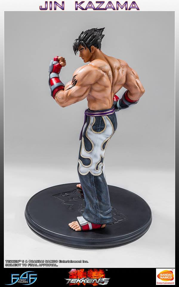 First 4 Figures - Tekken 5 - Jin Kazama - Marvelous Toys - 9