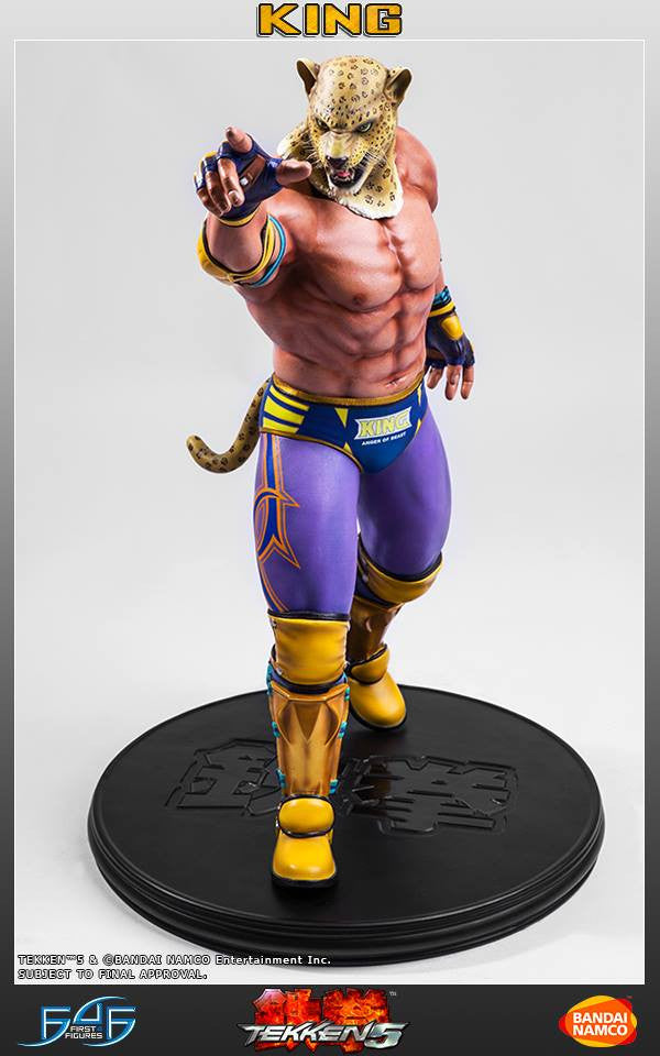 First 4 Figures - Tekken 5 - King - Marvelous Toys - 8