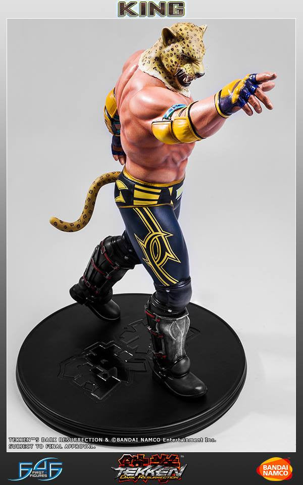 First 4 Figures - Tekken 5: Dark Resurrection - King - Marvelous Toys - 9