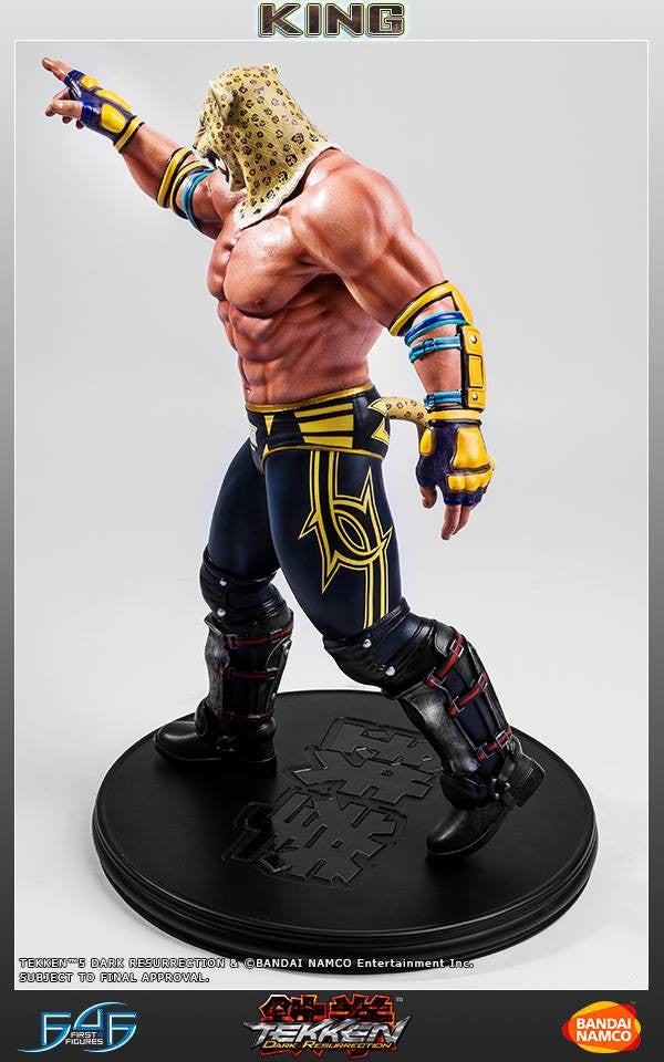 First 4 Figures - Tekken 5: Dark Resurrection - King - Marvelous Toys - 10