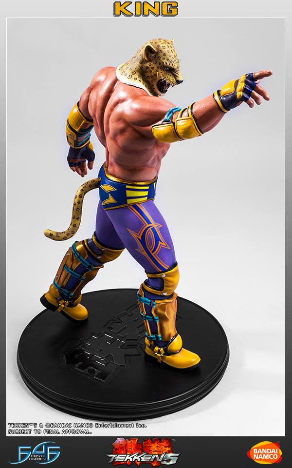 First 4 Figures - Tekken 5 - King - Marvelous Toys - 11