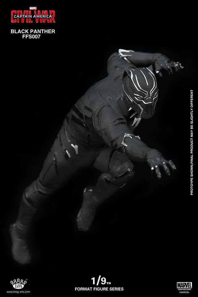 King Arts - FFS007 - Captain America: Civil War - Black Panther (1/9th Scale) - Marvelous Toys - 1