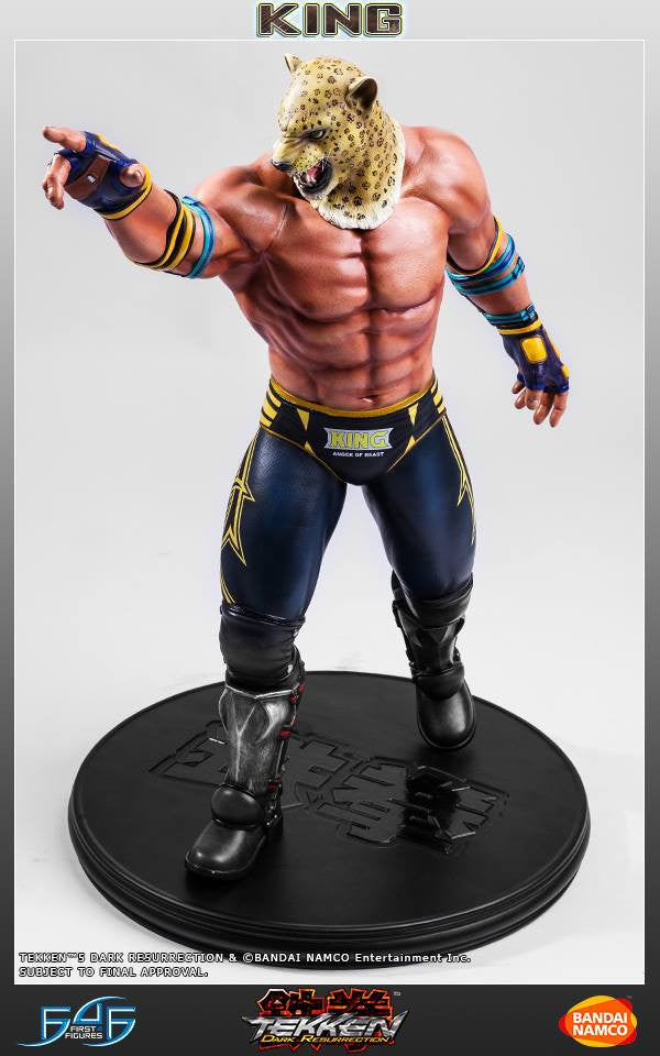 First 4 Figures - Tekken 5: Dark Resurrection - King - Marvelous Toys - 11